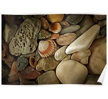 Pebble Stones Poster
