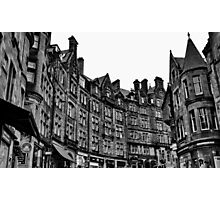 Edinburgh Photographic Print