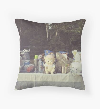 'Ham' Throw Pillow
