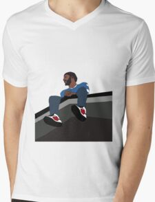 J.Cole 2014 Forest Hills Drive Mens V-Neck T-Shirt
