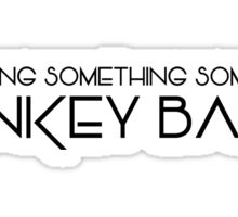 The Expanse - Donkey Balls - Black Clean Sticker