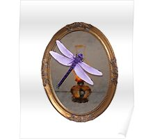 Purple Dragonfly  Poster