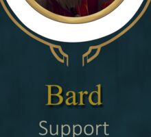 League of Legends - Bard Banner Sticker