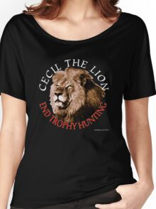 Cecil The Lion Women's Relaxed Fit T-Shirt