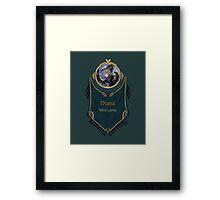 League of Legends - Diana Banner Framed Print