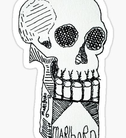 skullboro Sticker