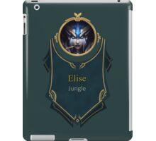 League of Legends Elise Banner (Victorious) iPad Case/Skin