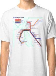 San Francisco BART Map Classic T-Shirt