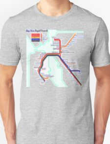 San Francisco BART Map T-Shirt