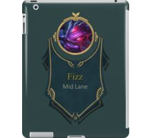 League of Legends - Fizz Banner (Void) iPad Case/Skin