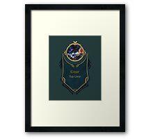 League of Legends - Gnar Banner (Gentleman) Framed Print