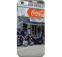 Rabbit Hash Store-Front View Bikers iPhone Case/Skin