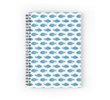 Fisch Zwei Spiral Notebook