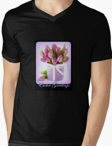 Easter Greetings Mens V-Neck T-Shirt