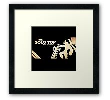 Solo Top Lane | Logo | High Quality  Framed Print