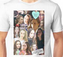 Alycia Debnam Carey Collage Unisex T-Shirt