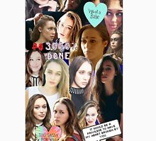 Alycia Debnam Carey Collage Unisex T-Shirt