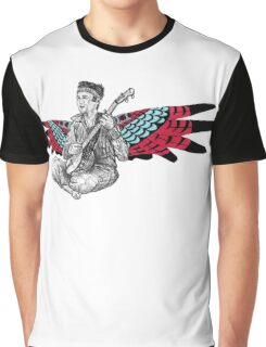 Sufjan (with wings) Graphic T-Shirt