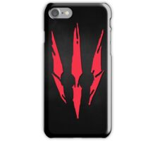 The Witcher 3 Red Logo! :) iPhone Case/Skin