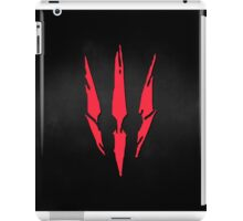 The Witcher 3 Red Logo! :) iPad Case/Skin