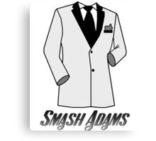 Smash Adams: Secret Agent Canvas Print