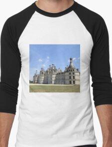 Château de Chambord - France Men's Baseball ¾ T-Shirt