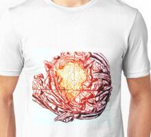 Califlower print (red version) Unisex T-Shirt