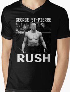 George St-Pierre Signature [FIGHT CAMP] Mens V-Neck T-Shirt