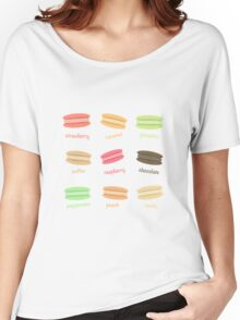 Yummy Macaroons Women's Relaxed Fit T-Shirt