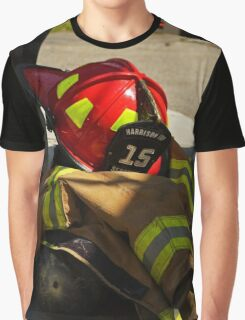 Turnout Gear Pile Graphic T-Shirt