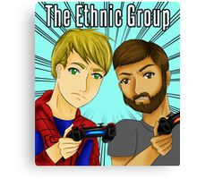 The Ethnic Group youtube Canvas Print