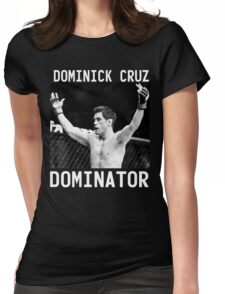 Dominick Cruz Signature [FIGHT CAMP] Womens Fitted T-Shirt