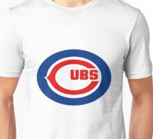 Chicago cubs Chicago bears logo swap Unisex T-Shirt