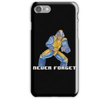 Bad Box Art Mega Man iPhone Case/Skin