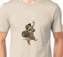Monster Hunter Felyne Playing Unisex T-Shirt