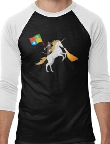 Ninja Cat Unicorn Men's Baseball ¾ T-Shirt