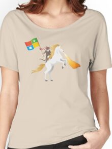 Ninja Cat Unicorn Women's Relaxed Fit T-Shirt