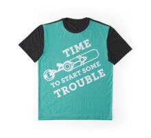 Ekko - Time to start some trouble Graphic T-Shirt