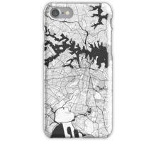 Sydney City Map Gray iPhone Case/Skin