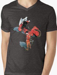 Kaneda Mens V-Neck T-Shirt