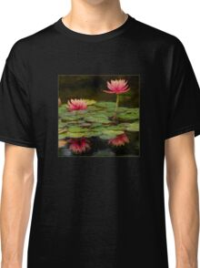 Impressions of pink lilies Classic T-Shirt