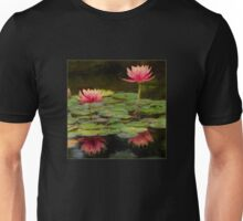 Impressions of pink lilies Unisex T-Shirt