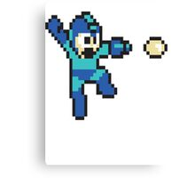 retro megaman Canvas Print