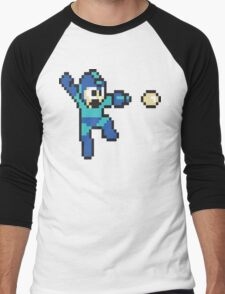 retro megaman Men's Baseball ¾ T-Shirt