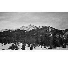 Peak One from Frisco Nordic Center #2 Photographic Print
