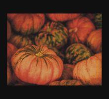 Pumpkin still life Kids Tee