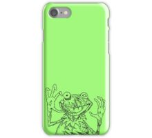 Zombie the Frog iPhone Case/Skin