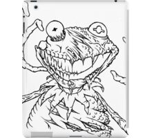 Zombie the Frog iPad Case/Skin