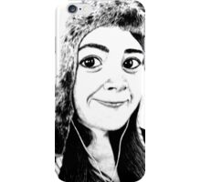 Girl portrait iPhone Case/Skin