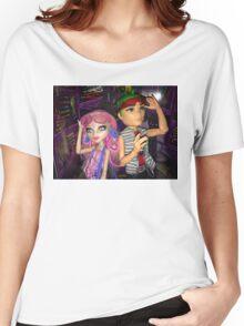 Monster High+Deuce+Viperine Women's Relaxed Fit T-Shirt
